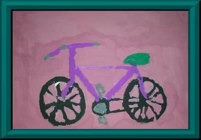 La bici rosa